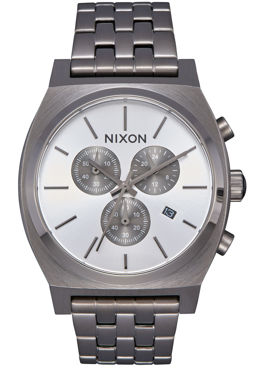 teller p watches nixon white matte time watch
