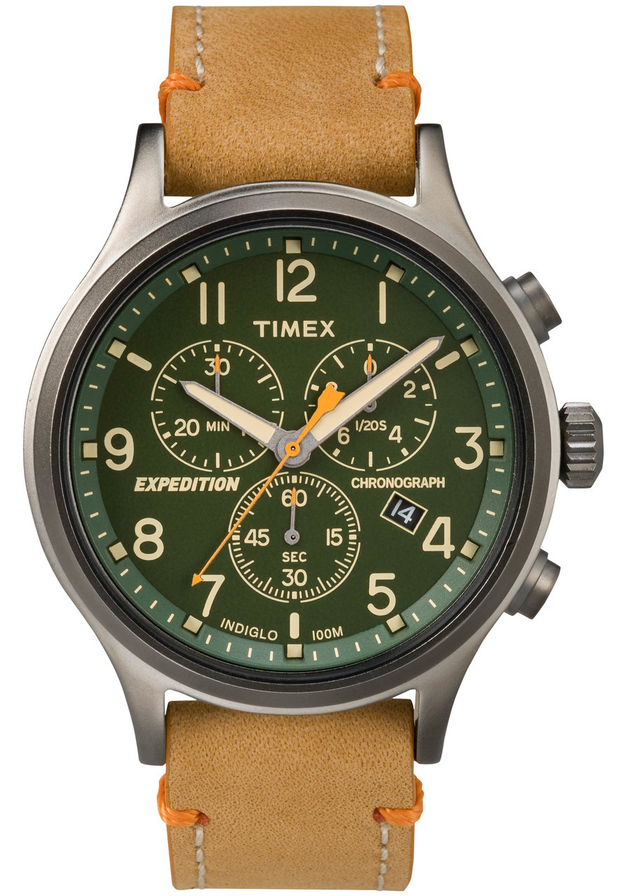 timex expedition scout chrono watches tan chronographs unique