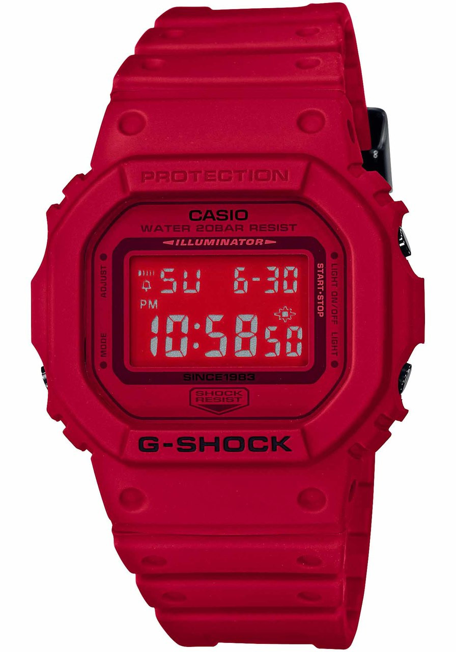 how to set hand time on g shock