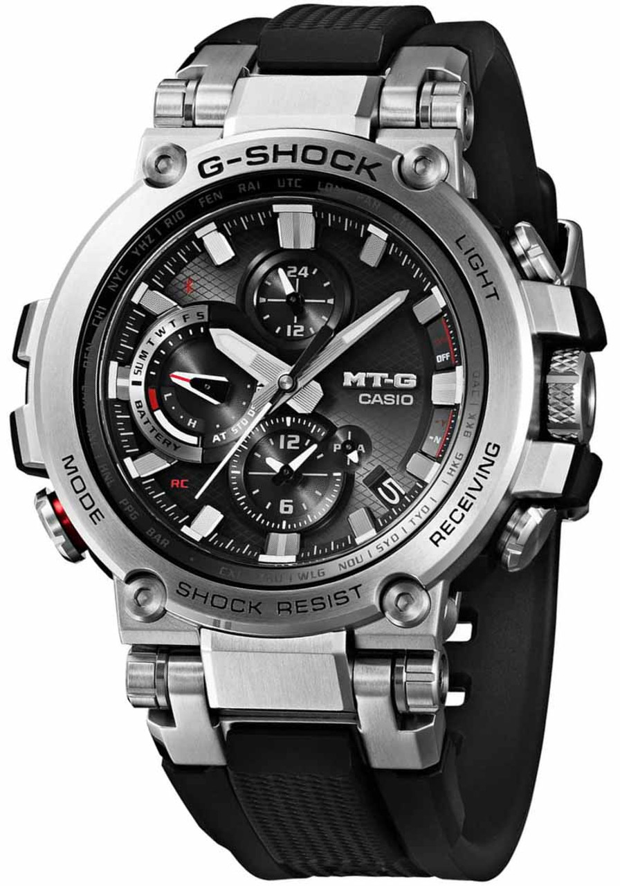 G Shock Mtg B1000 Connected Black Casio Gg 1000 1a Mtgb1000
