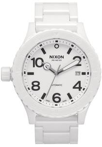 Nixon Ceramic Player Swiss Automatic Black Watches Com