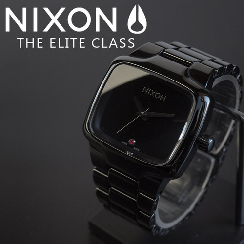 Nixon Ceramic Player Swiss Automatic Black (A145001)