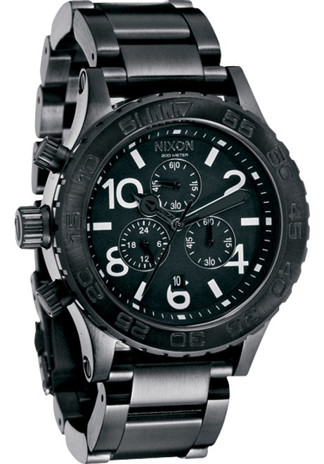 Nixon 42-20 Chrono All Black