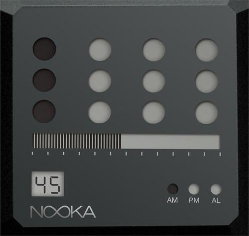 Nooka ZEM Night ZOT All Black Steel