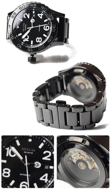Nixon 42-20 Black Ceramic Swiss Automatic