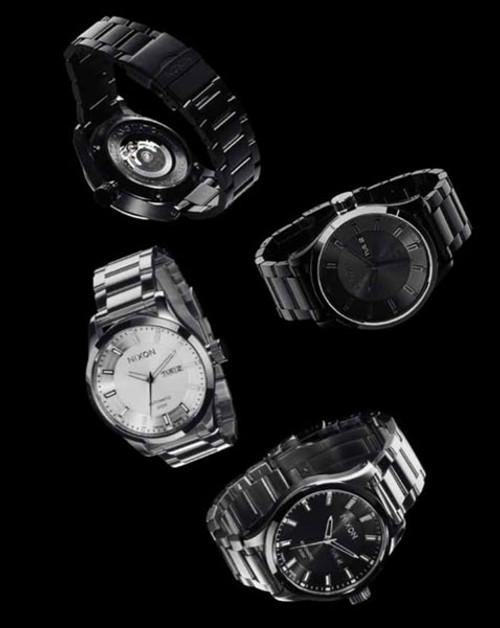 Nixon Swiss Automatic II -All Black