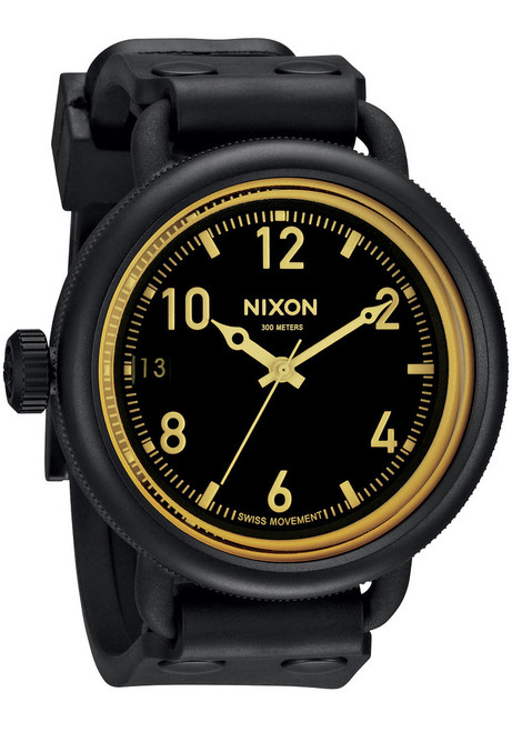 Nixon October Matte Black/Orange Sniper (A4881354)
