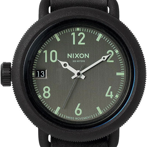 Nixon October Leather All Black (A279001)