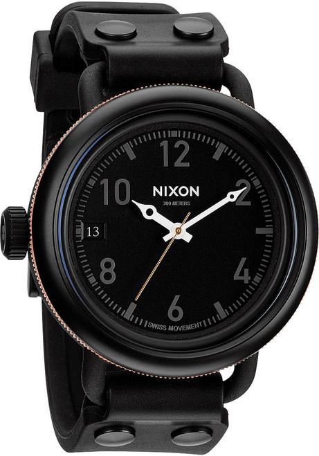 Nixon October Matte Black Industrial