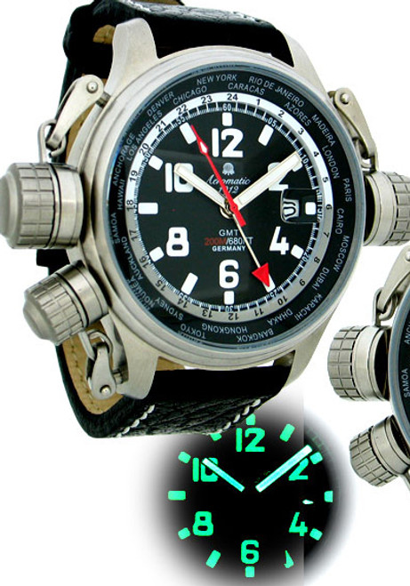 Aeromatic Cannon GMT Worldtime