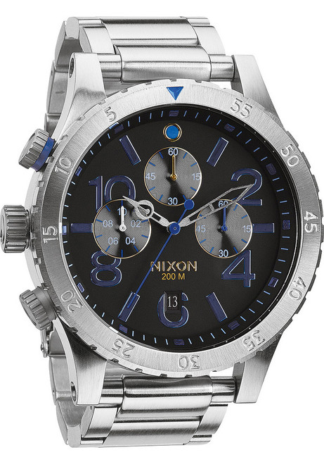 Nixon 48-20 Chrono Midnight GT (A4861529)