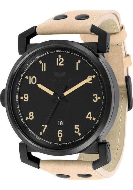 VESTAL OB3L008 Observer Leather Black/Sand
