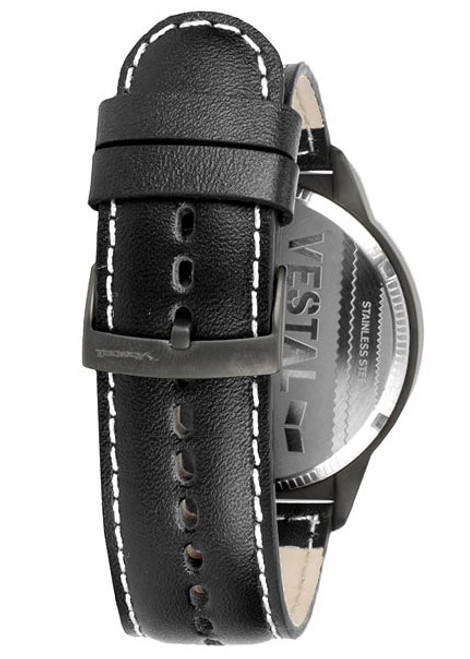VESTAL CTN3L10 Canteen Leather Black/Sand