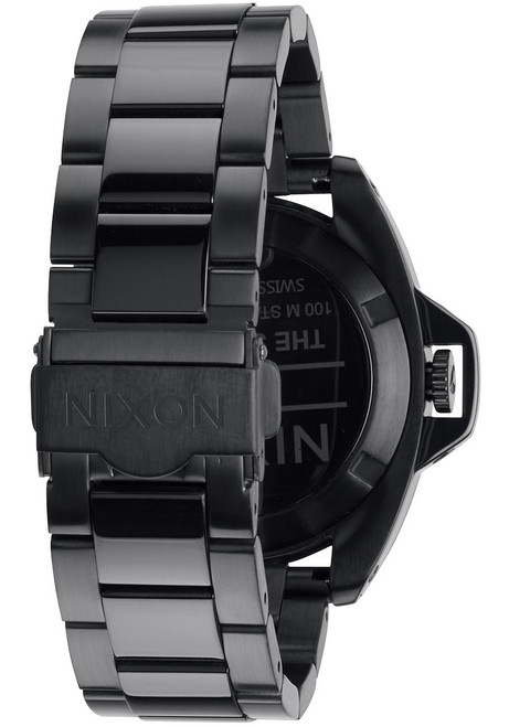 nixon black single women Discount watch store is proud to offer nixon watches nixon watches was formed in 1998,  nixon a4031616 women's kenzi black dial double wrap black strap watch.