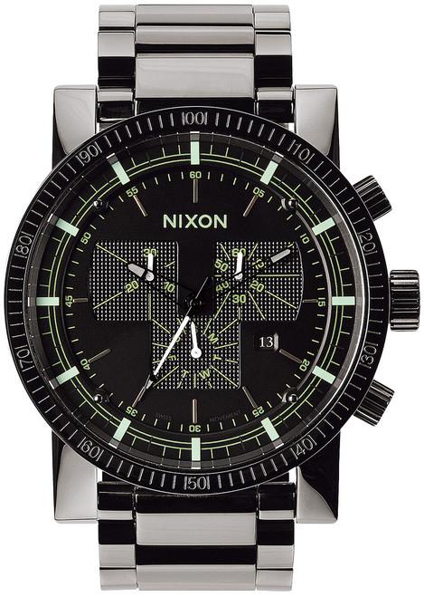 Nixon Magnacon SS II Chronograph Polished Gunmetal