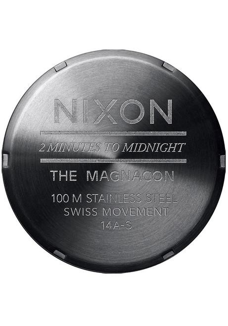 Nixon Magnacon II Chronograph Brown Horween Gator