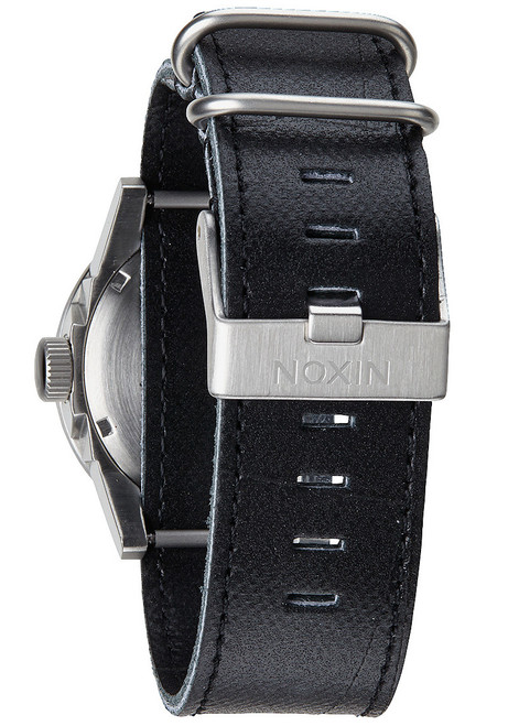 Nixon Private Leather Black