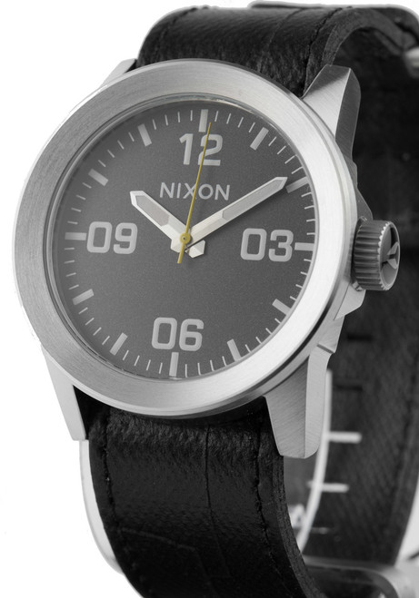 Nixon Private Leather Black (A0491892)