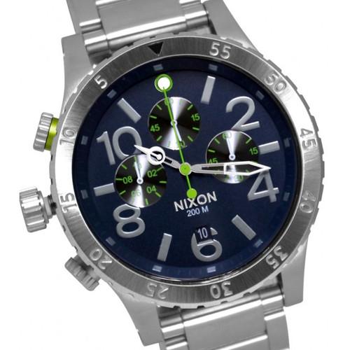 Nixon 48-20 Chrono SS Blue/Volt (A4861981)
