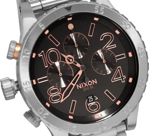 Nixon 48-20 Chrono Gray/Steel