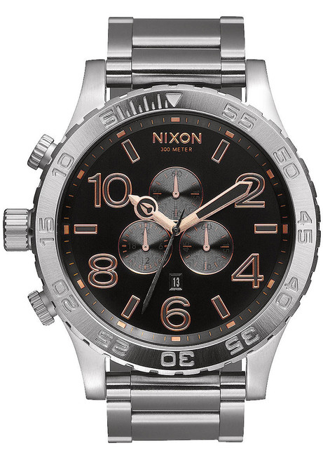 Nixon 51-30 Chrono Gray/Steel (A0832064)