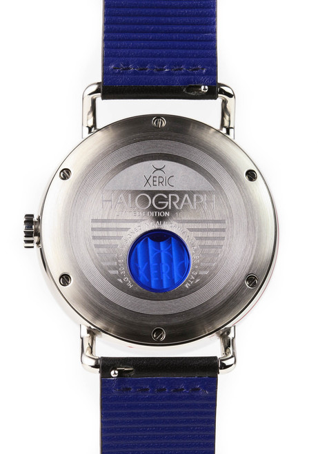 Xeric Silver Halograph Automatic Limited Edition caseback