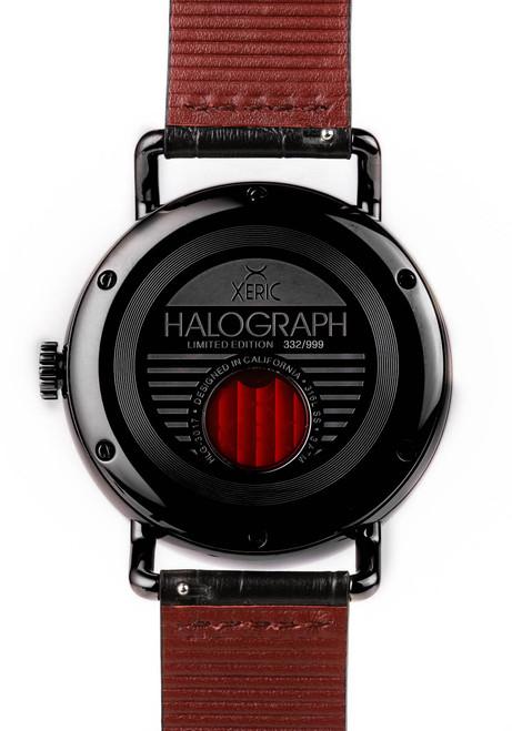 Xeric Gunmetal Halograph Automatic Limited Edition caseback