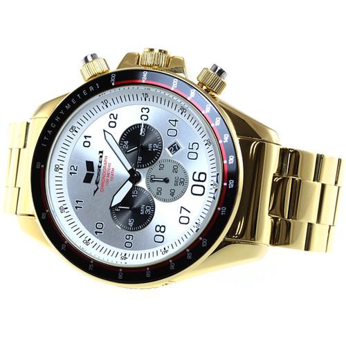 Vestal ZR3 Chronograph ZR3031 Gold/White