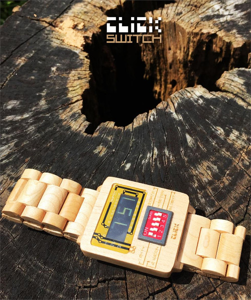 Click Switch Maple Wood Limited Edition