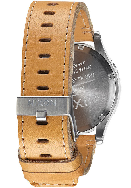Nixon 42-20 Chrono Leather Natural (A4241603)