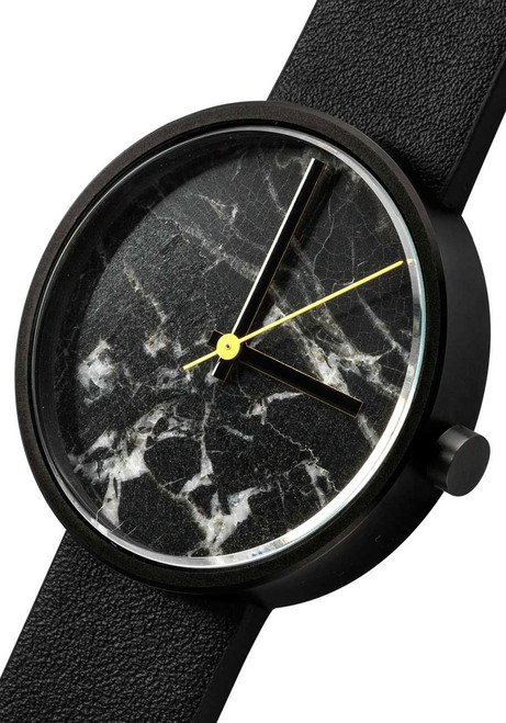 AARK Collective Marble Nero Black Italian Leather
