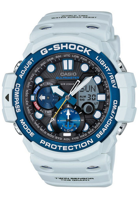 G-Shock Gulfmaster Triple Sensor White Blue - LIMITED EDITION
