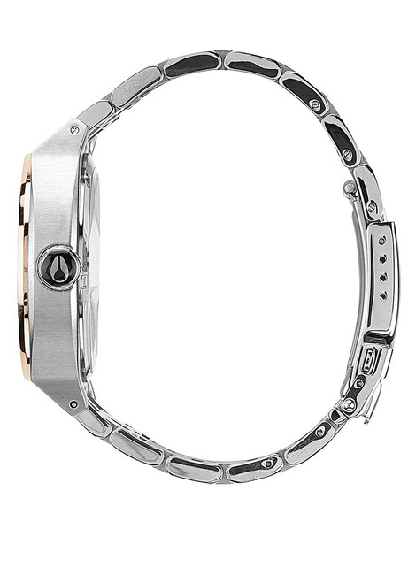 Nixon Monopoly Silver/Light Gold Crystal (A3251519)