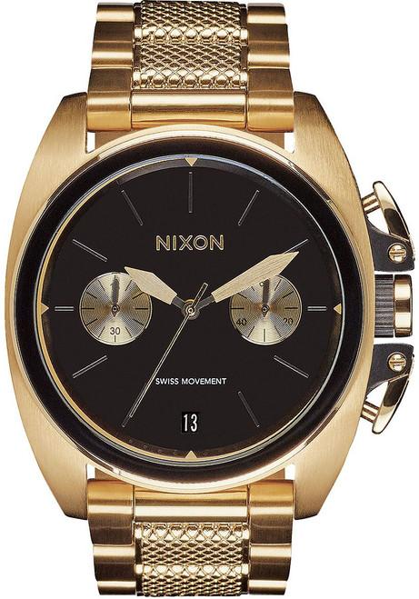 Nixon Anthem Chrono Gold Black