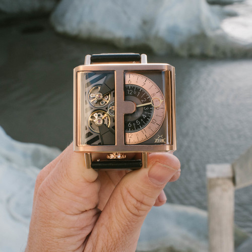 Xeric Soloscope Automatic Rose Gold Limited Edition