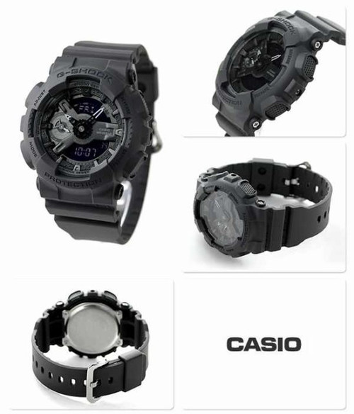 G-Shock S-Series Military Black (GMAS-110CM-8A) MULTI