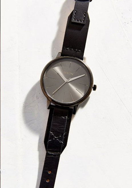 Nixon Kensington Leather Black/Bridle