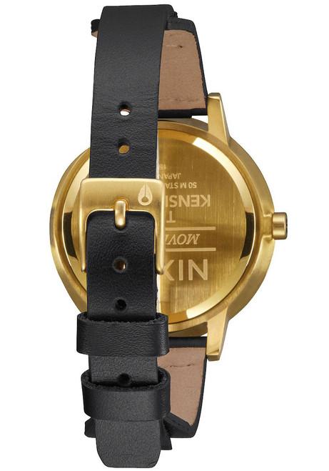 Nixon Kensington Leather Gold/Bridle