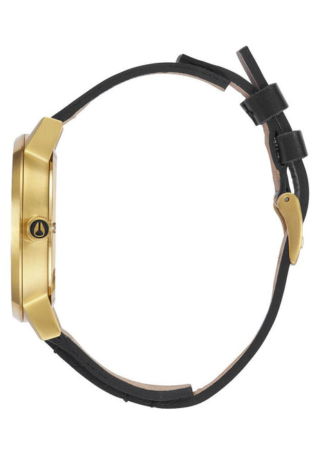 Nixon Kensington Leather Gold/Bridle