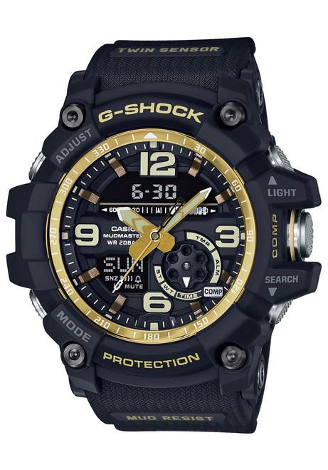 G-Shock Mudmaster Black Vintage Gold (GG-1000GB-1A)