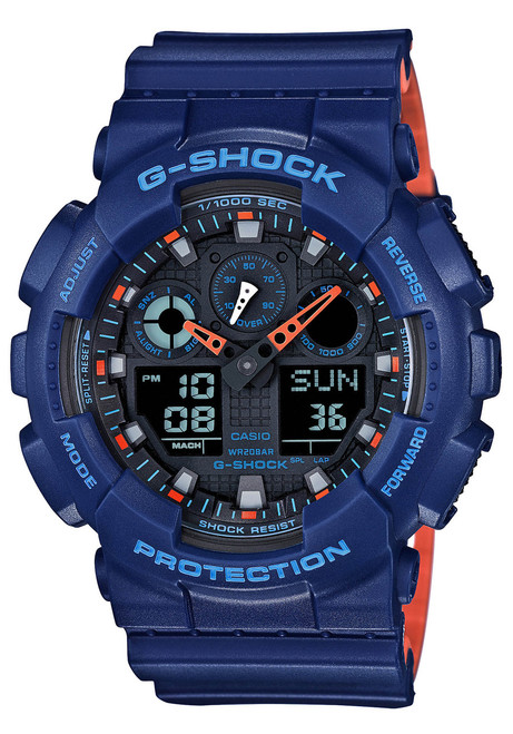 G-Shock GA-100 Military Series Navy