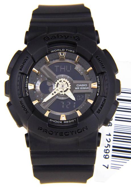 G-Shock BabyG BA-110 Black Gold (BA-110GA-1A)