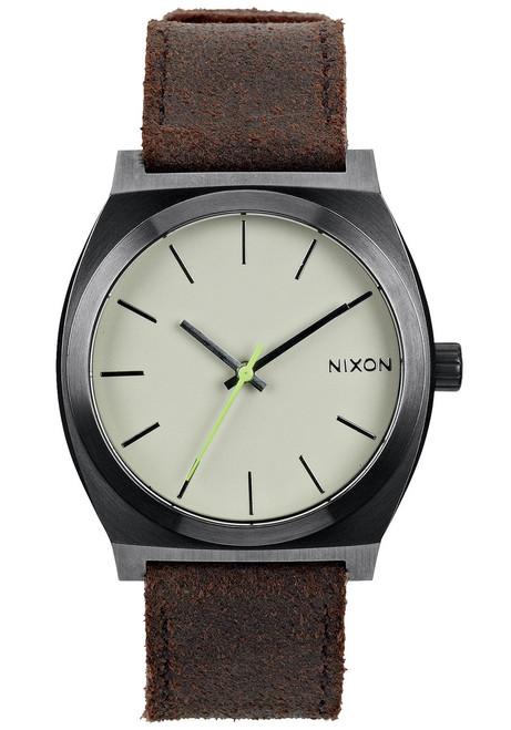 NIXON Time Teller Gunmetal Brown (A0451388)