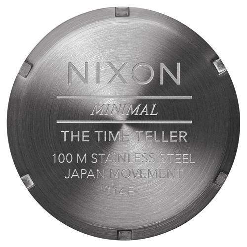 Nixon Time Teller Gunmetal Brown