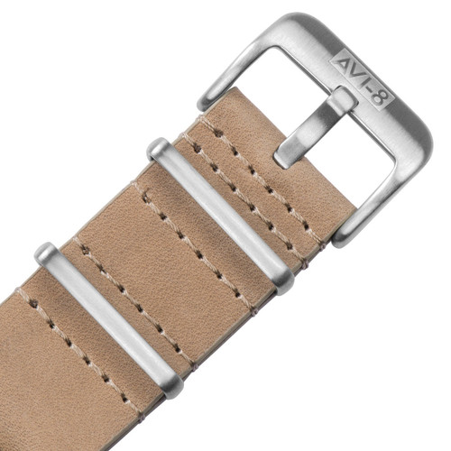 AVI-8 Flyboy Multi-Function Automatic Tan Silver