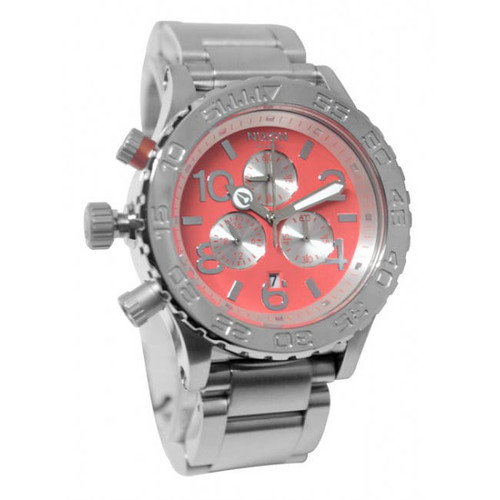 Nixon 42-20 Chrono Bright Coral (A0372054)