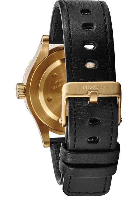 Nixon 38-20 Leather Gold Black (A467513) STRAP
