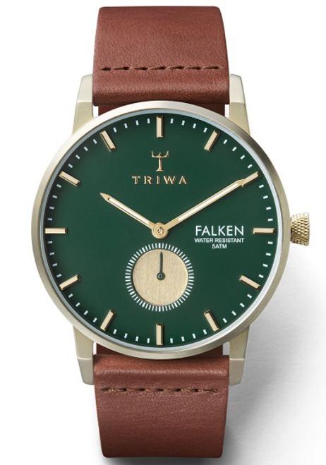 Triwa Pine Falken Brown Classic Champagne