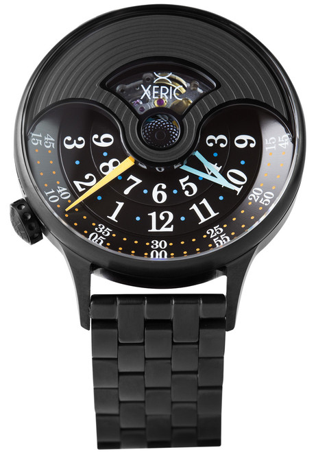 Xeric Evergraph Automatic SS Limited Edition Black (EGA-3017-SS)