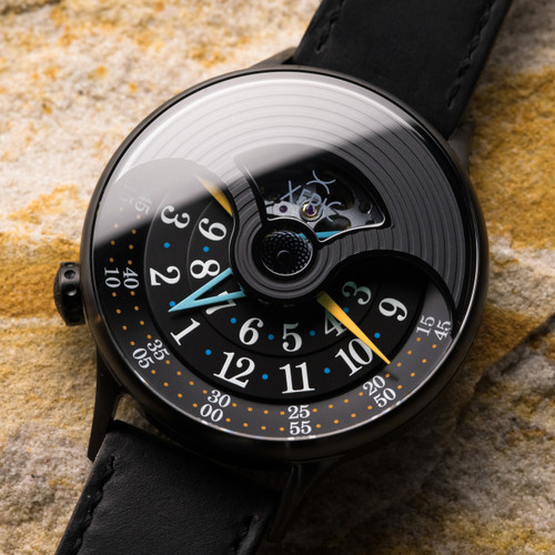Xeric Evergraph Automatic Limited Edition Black (EGA-3017)